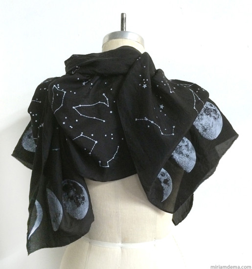 miriamdema 2014 Dark Night Skies Scarf