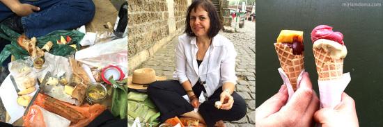Miriam Dema in Paris Picnics 2014