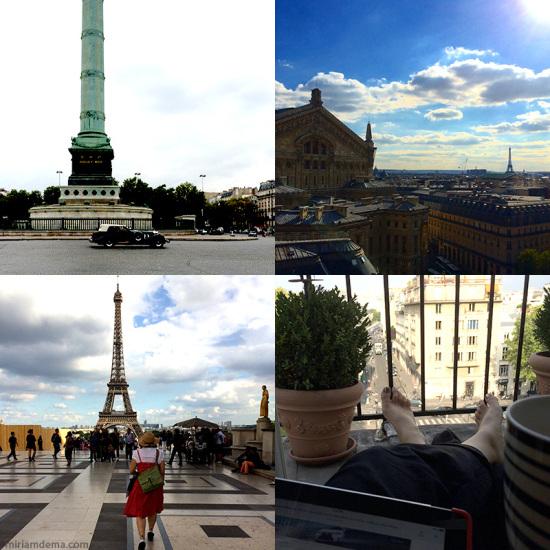 miriam dema in Paris travel trip 2 2014