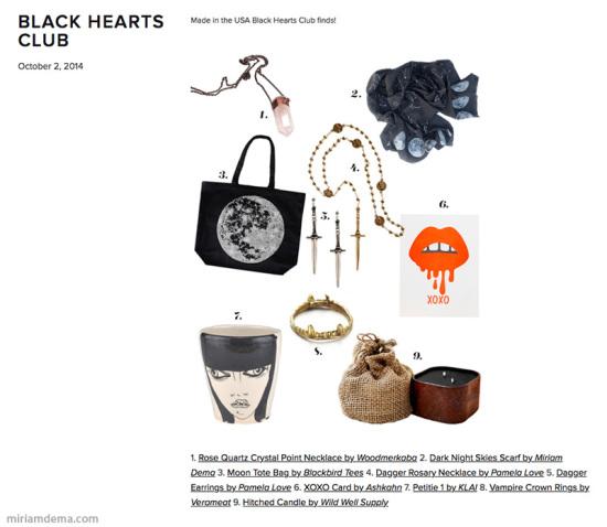 miriam dema black hearts club 2014