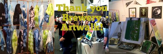 miriamdema brewery artwalk fall 2014