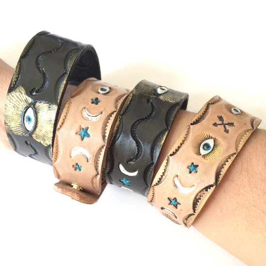miriamdema leather bracelets 2015